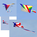 Colorful Kites Royalty Free Stock Photography