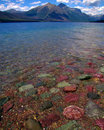 Colorful Lake Rocks Royalty Free Stock Photo