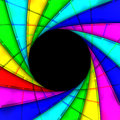 Colorful Lens background shutter Royalty Free Stock Images