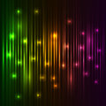 Colorful lights background. Stock Photo