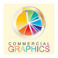 Colorful logo template Stock Photography
