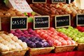 Colorful macaroons in a camden market stall Royalty Free Stock Photos