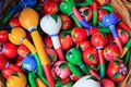 Colorful maracas from Mexico handcraft painted Stock Photos