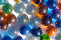 Colorful marbles Royalty Free Stock Photo
