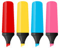 Colorful Markers Set Royalty Free Stock Photo