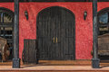 Colorful Mexican Doorway Royalty Free Stock Photo