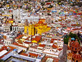 Colorful Mexican Town Stock Image