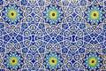 Colorful moroccan mosaic wall Royalty Free Stock Photo