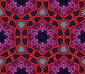 Colorful moroccan ornament in vector Royalty Free Stock Photo
