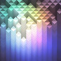Colorful mosaic geometric background made of pattern Royalty Free Stock Photo