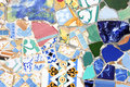 Colorful mosaic texture Stock Photo