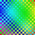Colorful mosaic tile wall background Royalty Free Stock Photos