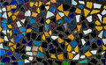 Colorful of mosaic tiles background Stock Photos
