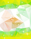 Colorful mosaic triangle background this is file of eps format Stock Photo