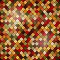 Colorful mosaic. Vintage background Royalty Free Stock Photo