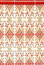 Colorful Mudejar Wall Stock Image
