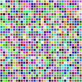 Colorful multi color seamless square tiles Royalty Free Stock Image