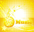 Colorful music background party for event design Royalty Free Stock Photo