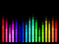 Colorful music volume Royalty Free Stock Photo