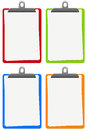 Colorful notepads Royalty Free Stock Photo