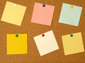 Colorful notes Royalty Free Stock Image