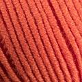 Colorful Orange wool thread ball macro closeup Royalty Free Stock Photo