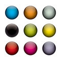 Colorful orbs Royalty Free Stock Photography