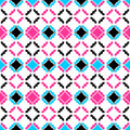 Colorful ornamental pattern - seamless.
