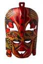 Colorful painted mask Royalty Free Stock Image