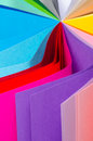 Colorful paper Royalty Free Stock Photography