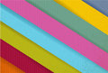 Colorful paper lines ready for your customization illustration design Stock Photos