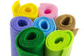 Colorful paper rolls Royalty Free Stock Photo