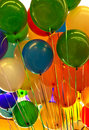 Colorful party balloons Royalty Free Stock Image