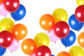 Colorful party balloons Royalty Free Stock Photo