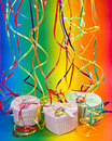 Colorful party or holiday decoration Royalty Free Stock Photography