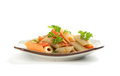 Colorful pasta Royalty Free Stock Photo