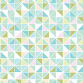 Colorful pastel triangle texture seamless pattern vector background with hand drawn elements Royalty Free Stock Photography