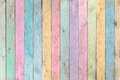 Colorful pastel wood planks texture or background Royalty Free Stock Photo
