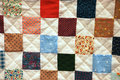Colorful patchwork quilt Stock Photography