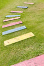 Colorful path Stock Images