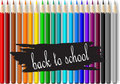 Colorful pencil crayons Royalty Free Stock Image