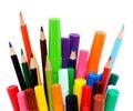 Farbistý ceruzky a