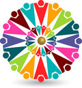 Colorful people logo Stock Photos