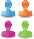 Colorful people symbol Stock Photo