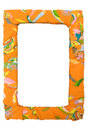 Colorful Picture Frame Stock Photo