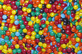 Colorful pills sugars background of or Stock Images