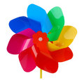 Colorful pinwheel Royalty Free Stock Photos