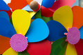 Colorful pinwheels Royalty Free Stock Photo