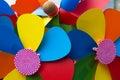 Colorful pinwheels Royalty Free Stock Photo