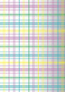 Colorful plaid Royalty Free Stock Images
